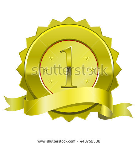 Guaranteed Shiny Gold Metal Label On The Edge. Stock Vector.