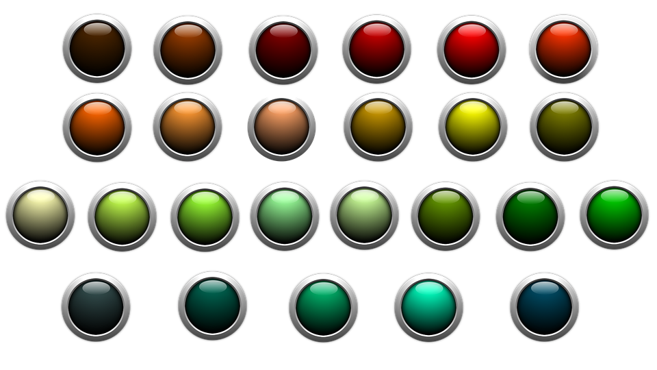 Free photo Icon Edge Colorful About Button Shiny.