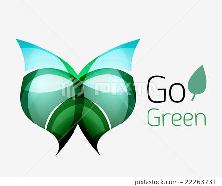 Shiny leaf icon.