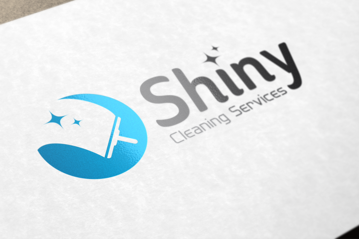 Shiny Cleaning Services Logo.