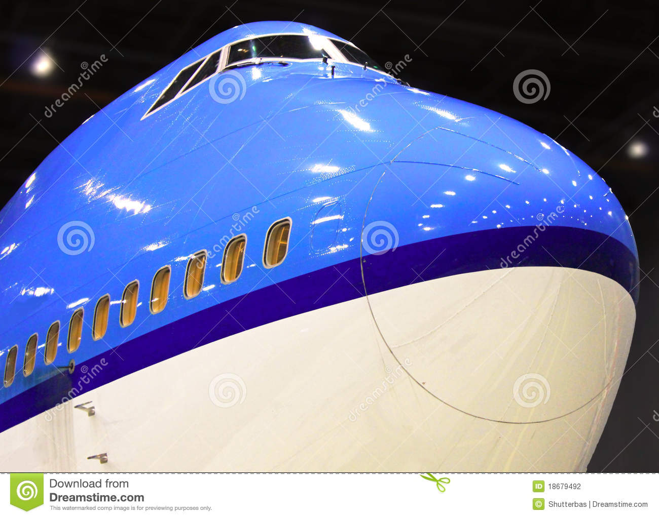 Big Plane Stock Photography.