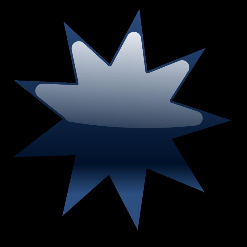 Free Clipart: Shiny Star.