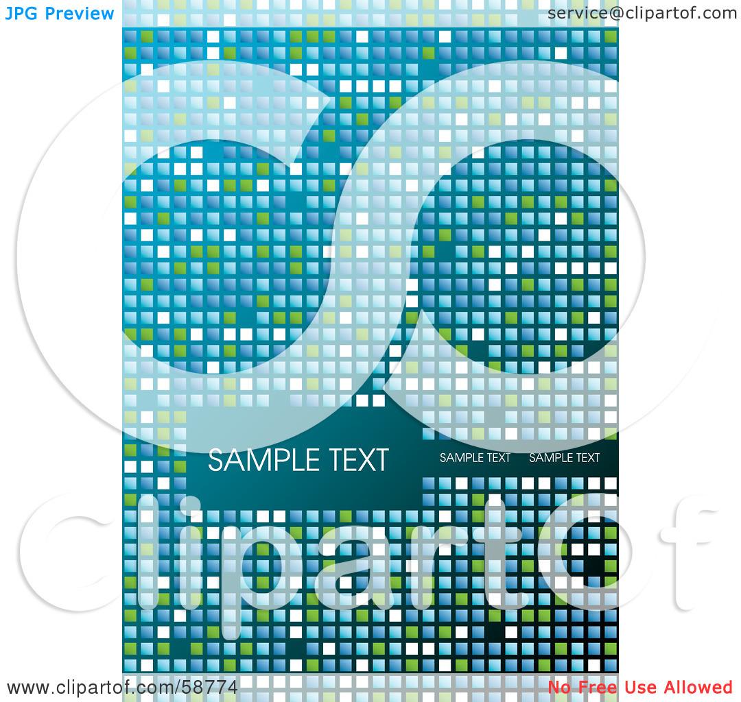 Mosaic Tile Clipart.