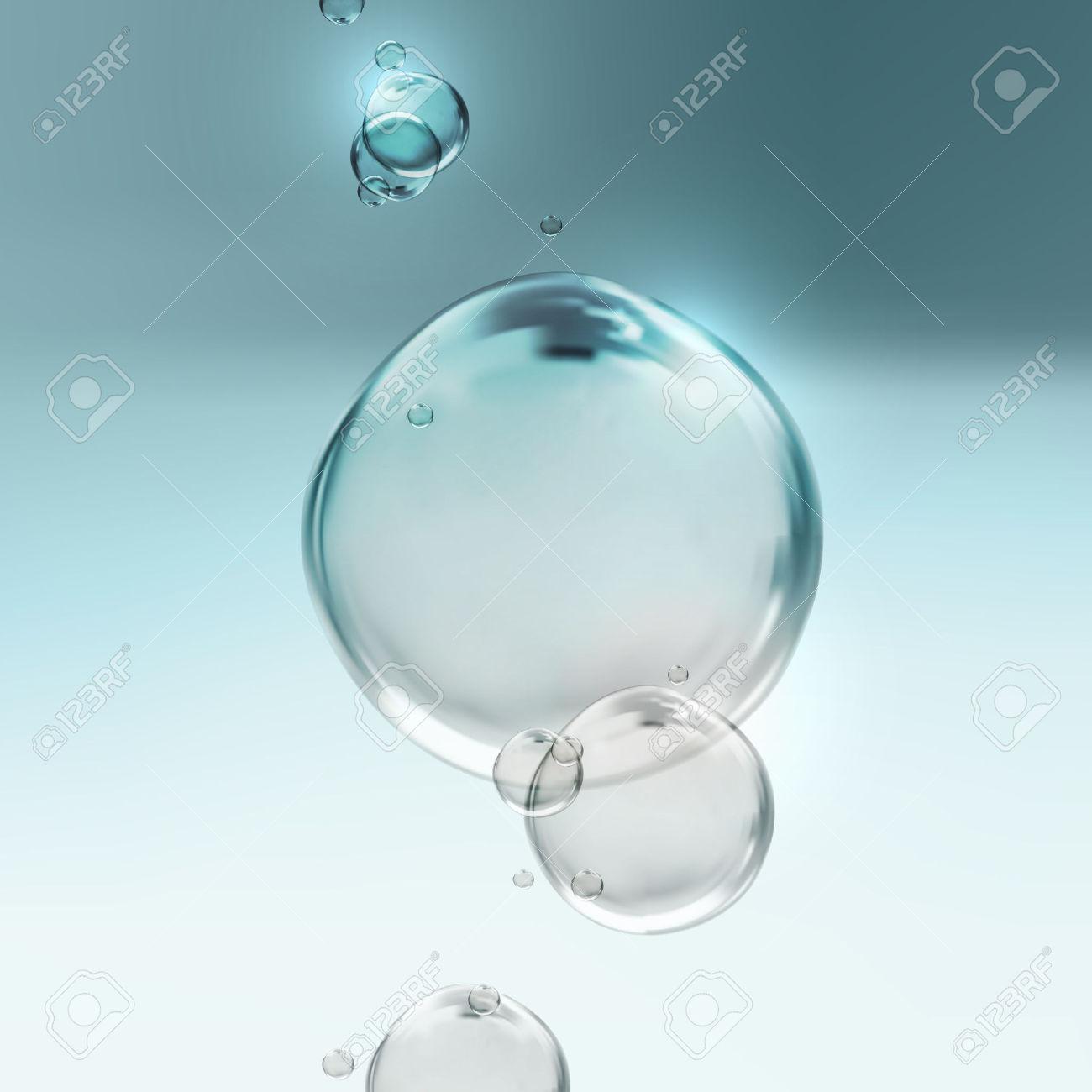 Water bubbles shiny clipart.