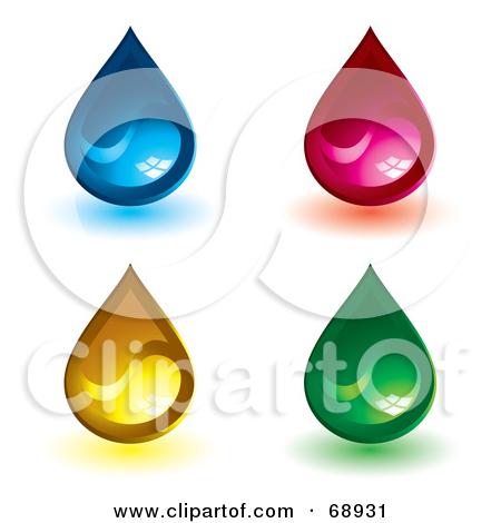 Shiny water clipart #6