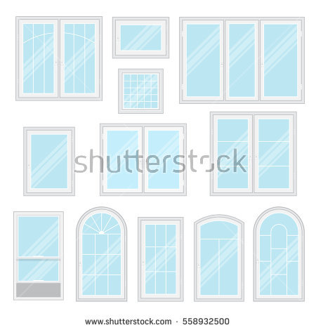 Shiny window clipart #4