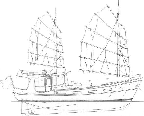 junk ship design.