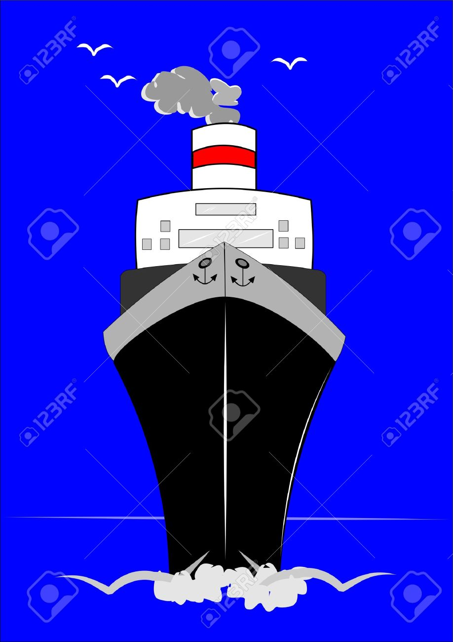 Cruise Ship Royalty Free Cliparts, Vectors, And Stock Illustration.