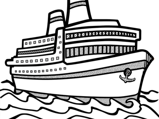 Ship clip art black and white clipart images gallery for.