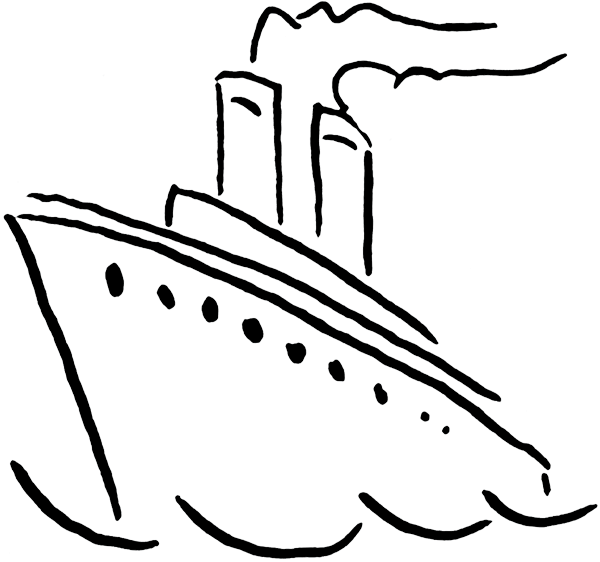 Boat black and white ship clip art black white free clipart.