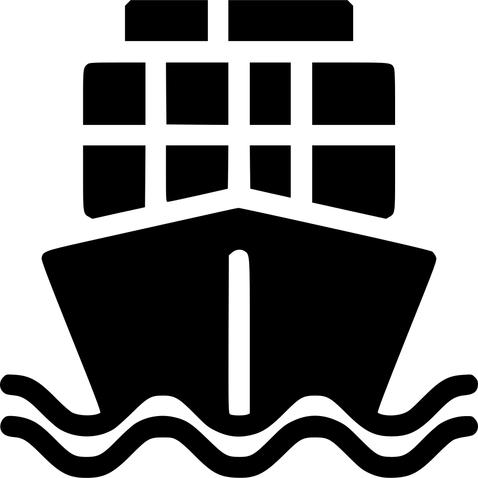 Cargo Ship Svg Png Icon Free Download (#538295.