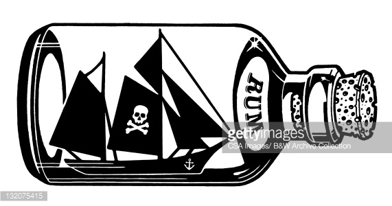 Ship in a bottle clipart #19