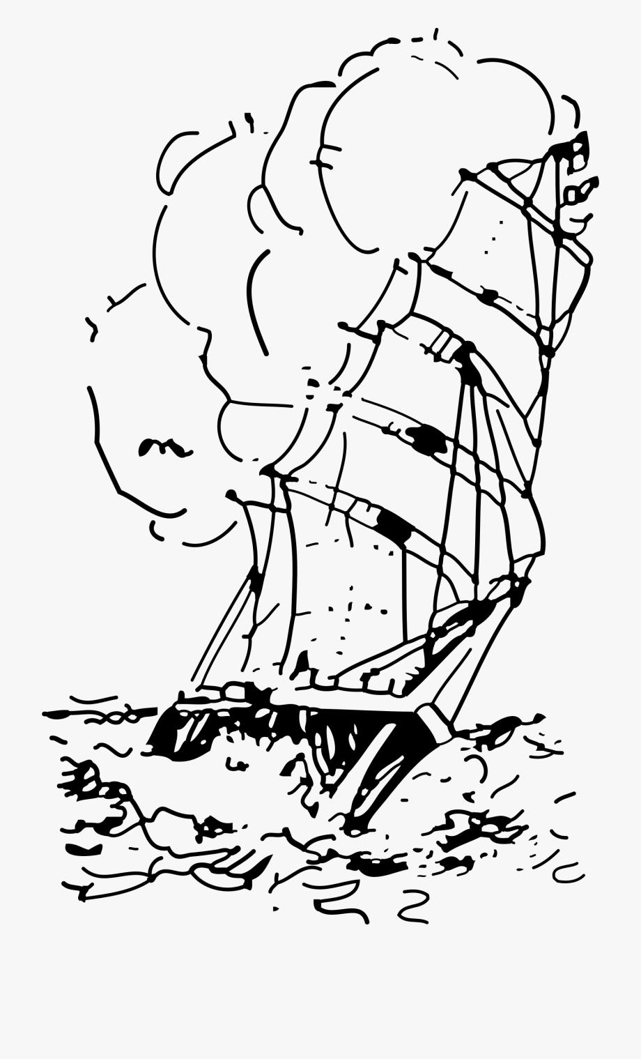 Storm Clipart Ship.