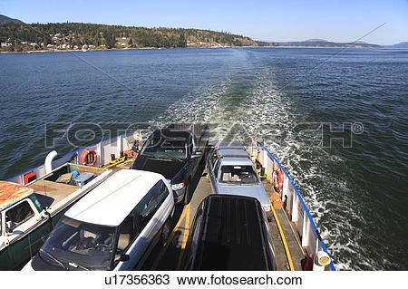 Stock Photo of Brentwood Bay.
