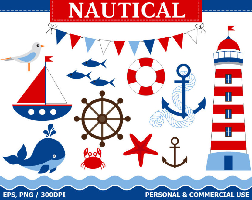 Nautical Clip Art Free.