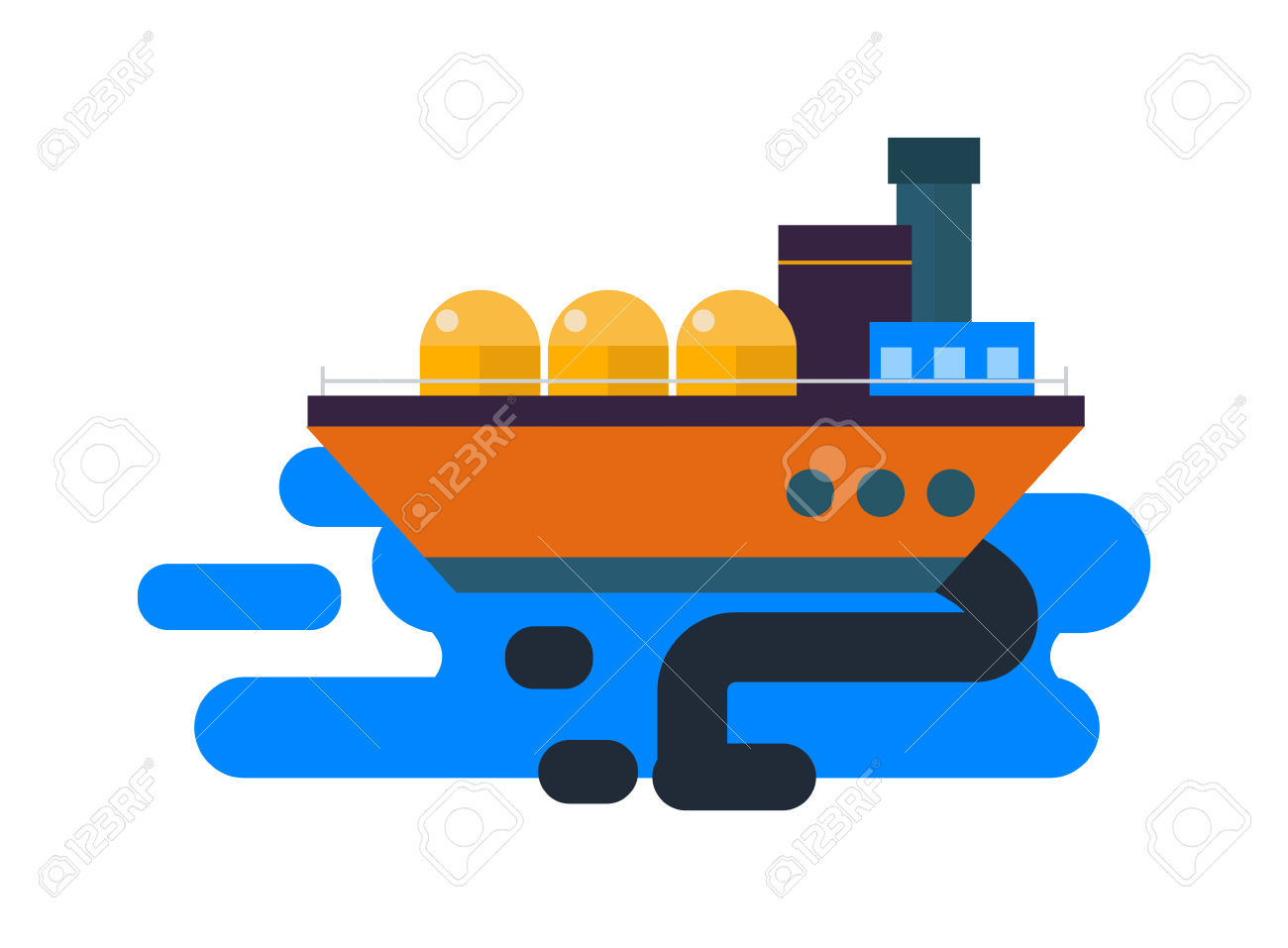 Ship mills clipart #15