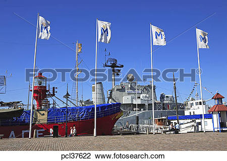 Stock Photo of Sweden, Gothenburg, Goteborgs Maritima Centrum.
