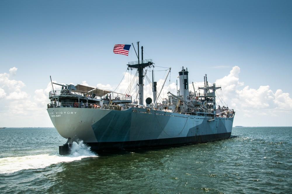 American Victory Ship.