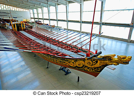 Stock Photography of Old ship galleon in Maritime Museum, Lisbon.