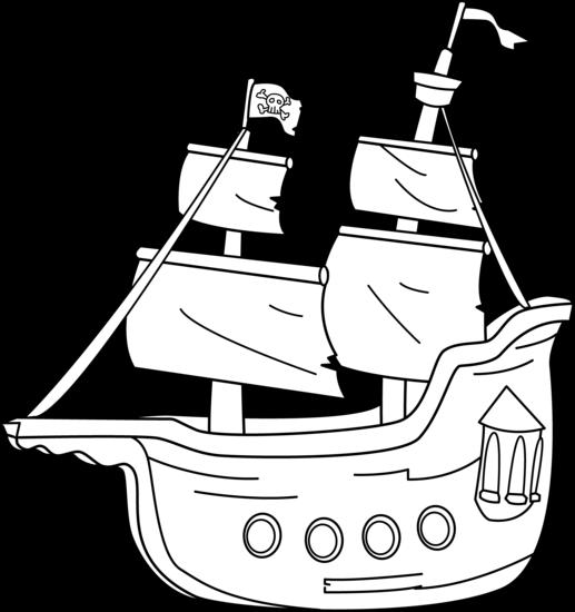5232 Ship free clipart.