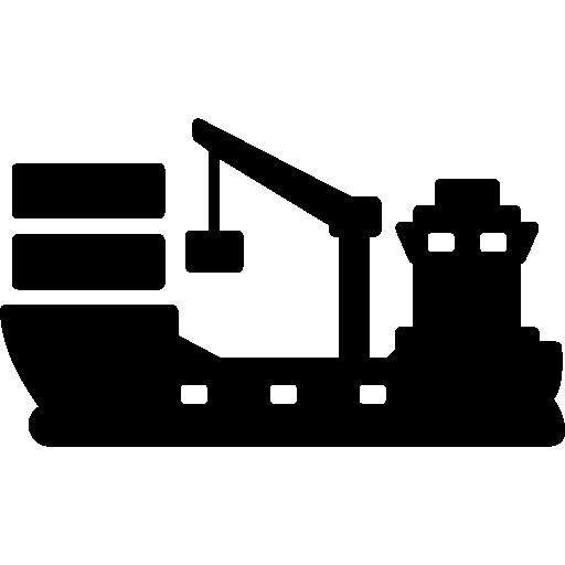 Cargo ship Icons.