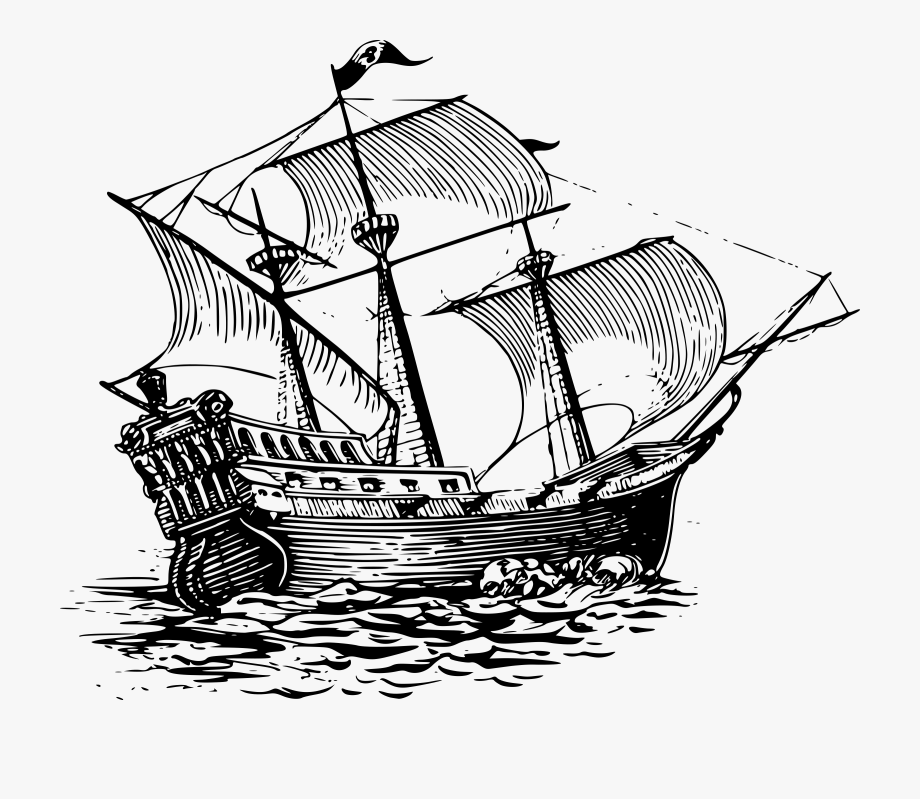 Caravel Clipart Battleship.