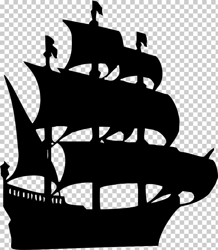 Ship model Silhouette , Ship PNG clipart.