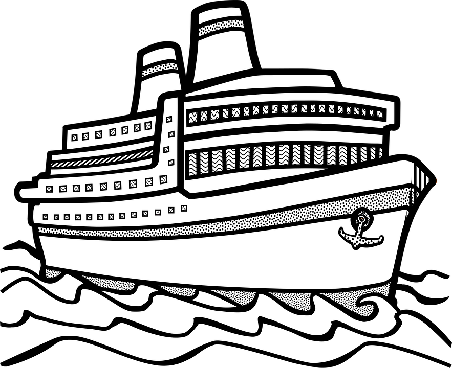 Free vector graphic: Sea, Ship, Traffic, Vehicle.