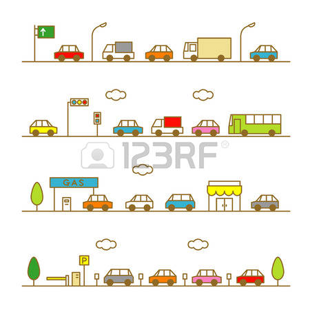 433 Traffic Congestion Cliparts, Stock Vector And Royalty Free.