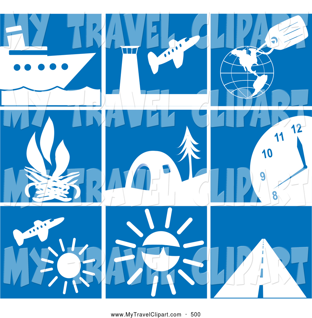 Royalty Free Stock Travel Designs of Cruises.