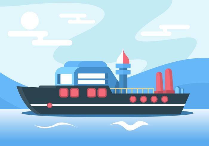 Ship Vector.