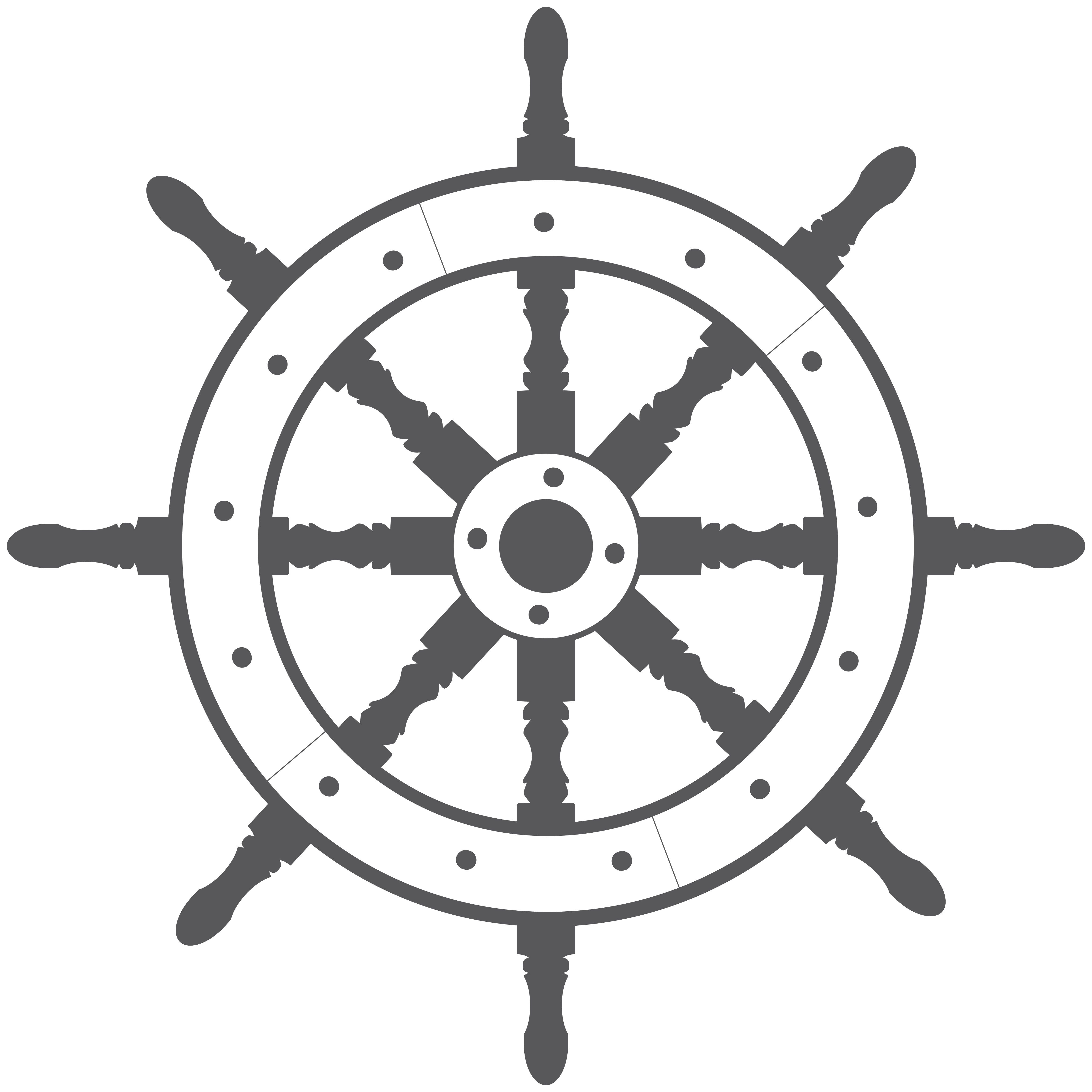 Ship Wheel.