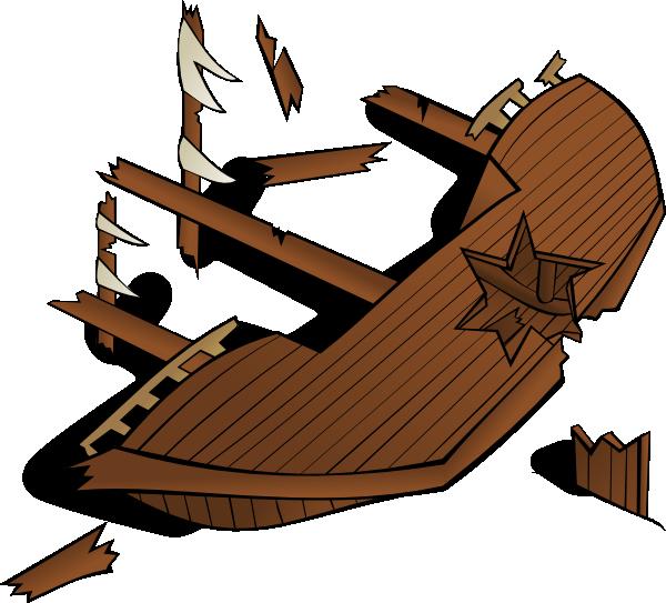 Shipwreck clip art Free Vector / 4Vector.