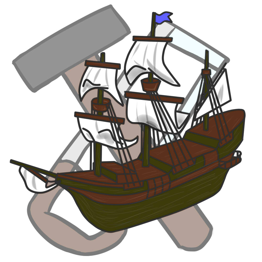 Shipbuilding Clipart by SA.