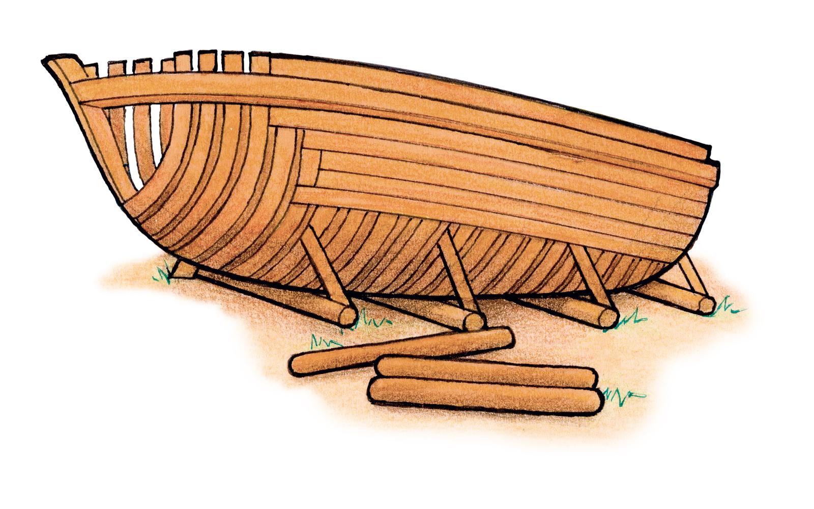 Ship Building Tools Clipart.
