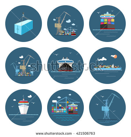 Shipbuilding Stock Vectors, Images & Vector Art.