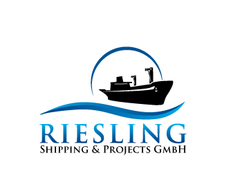 Riesling Shipping & Projects GmbH logo design contest.