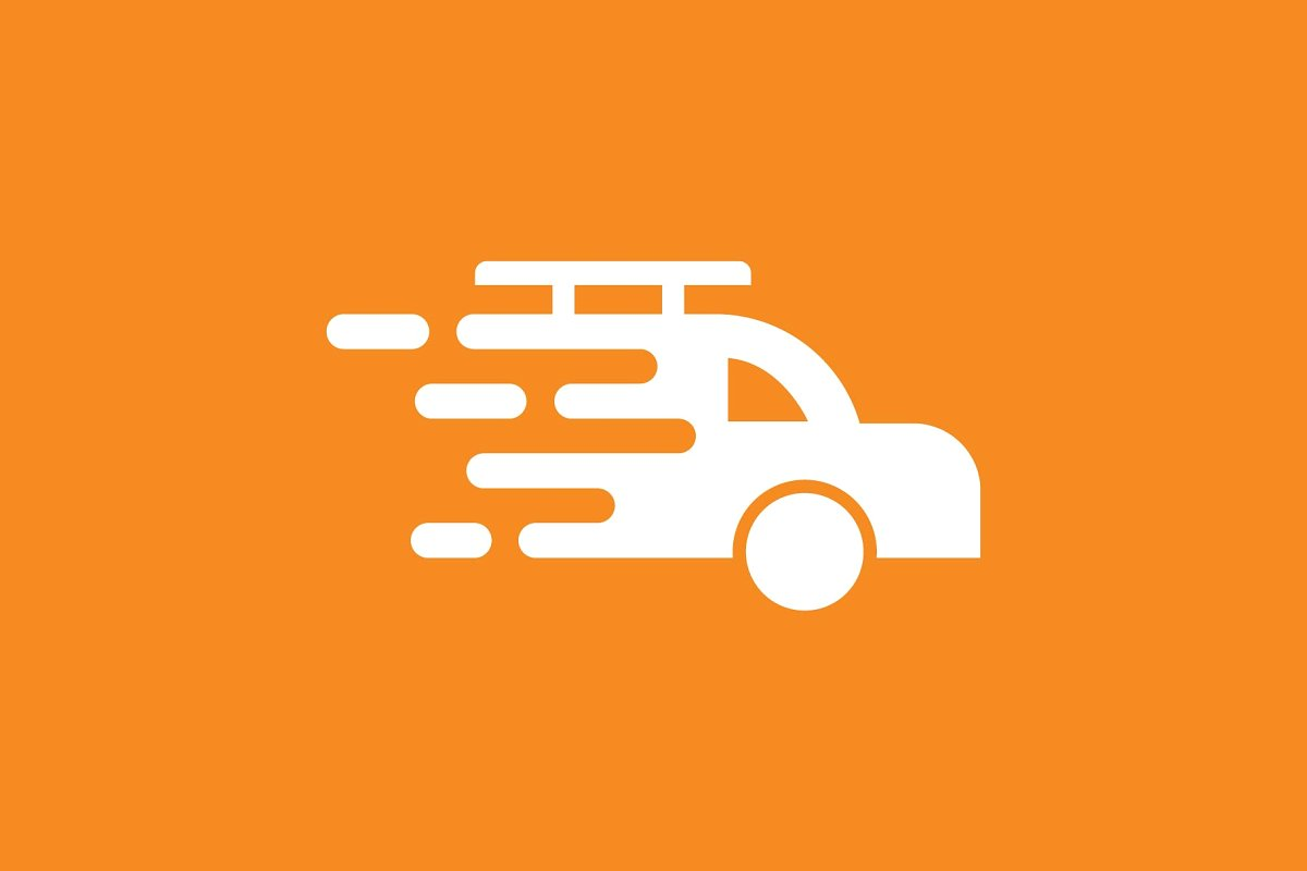 fast car shipment logo ~ Logo Templates ~ Creative Market.