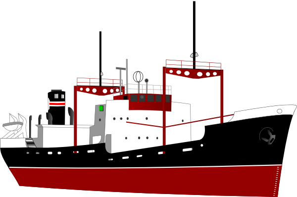 Shipping Boat Without Logo Clip Art at Clker.com.