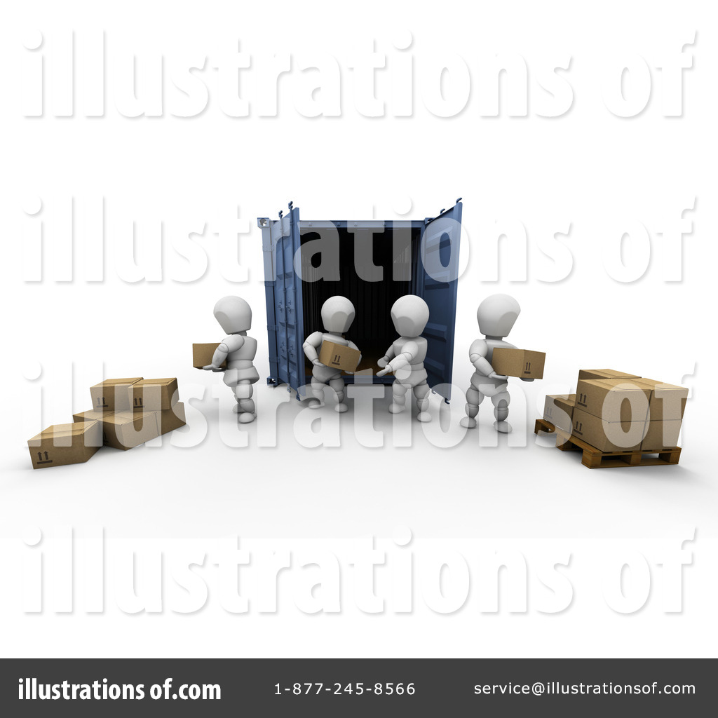 Shipping Industry Clipart #25501.
