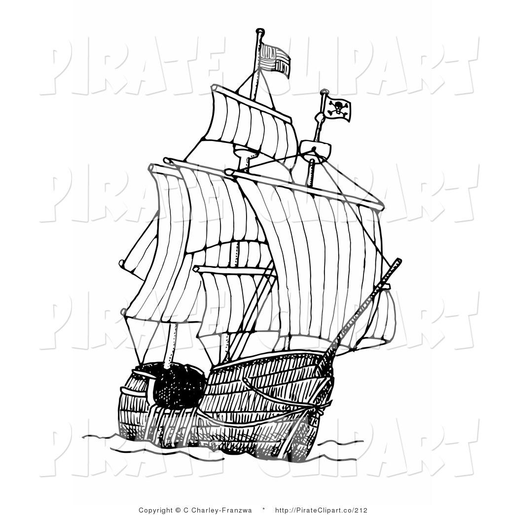 Clipart Ships At Sea.