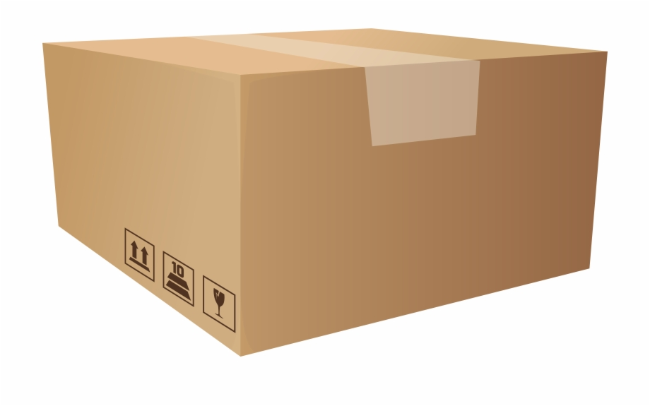 Packaging Box Png Clip Art.