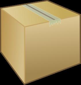 Box clipart shipping box, Box shipping box Transparent FREE.