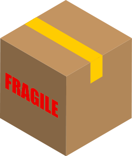 Shipping boxes clipart.
