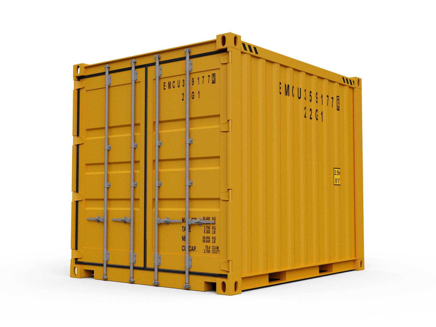 10 ft Shipping Containers for Sale.