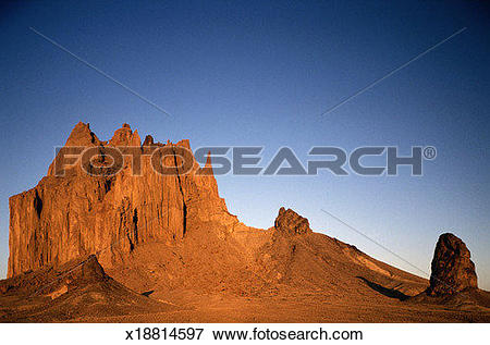 Picture of Shiprock at Dawn.