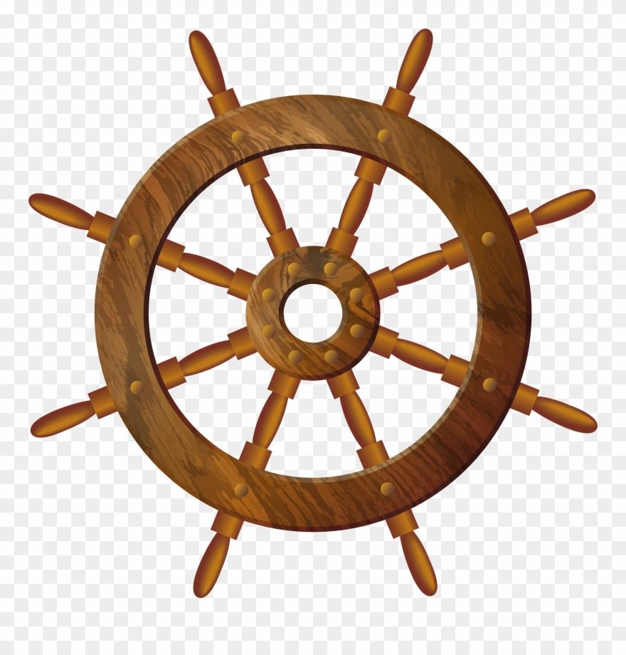 Wooden Wheel, Paint Shop, Art Images, Clip Art, Nautical.