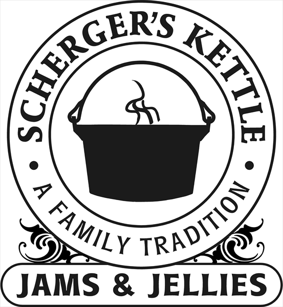Scherger's Kettle Jams & Jellies.