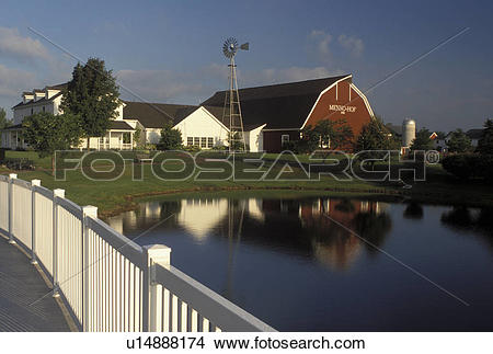 Stock Photo of Shipshewana, IN, Indiana, Henno.