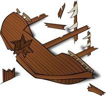 52+ Shipwreck Clipart.